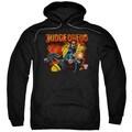 Judge Dredd/Through Fire Adult Pull-Over Hoodie in Black