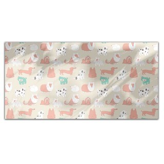 Cute Dogs Rectangle Tablecloth