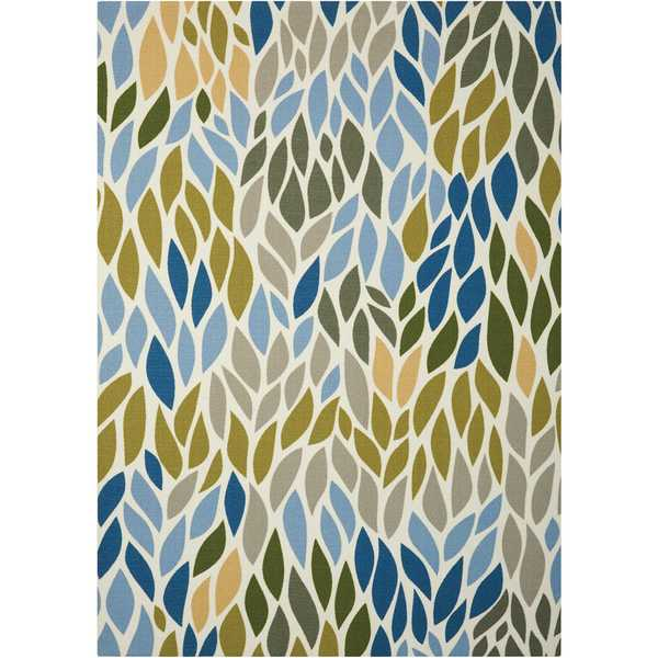 Nourison Home and Garden Multicolor Rug (7'9 x 10'10)