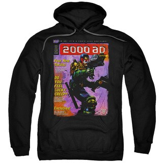 Judge Dredd/1067 Adult Pull-Over Hoodie in Black