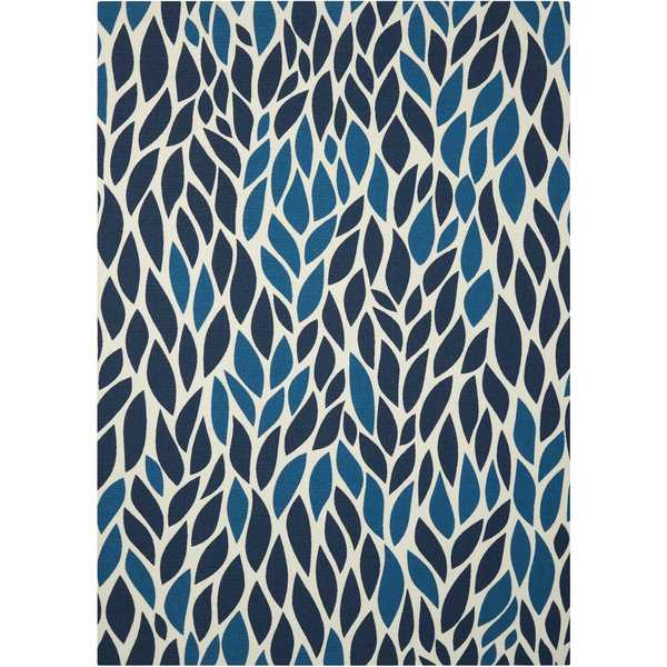 Nourison Home and Garden Blue Rug