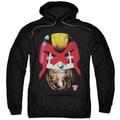 Judge Dredd/Dredd's Head Adult Pull-Over Hoodie in Black