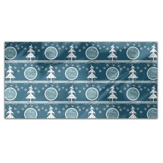 Cold Christmas Rectangle Tablecloth