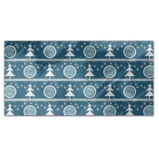 Cold Christmas Rectangle Tablecloth