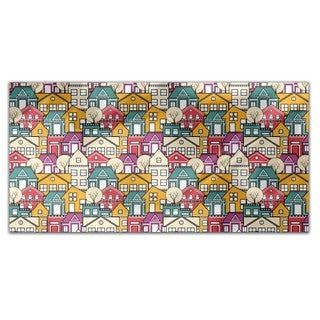 Cityscape Rectangle Tablecloth