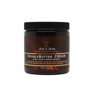 As I Am 8-ounce Double Butter Cream Rich Daily Moisturizer