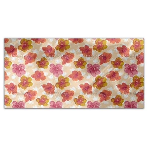 Brisk Flowers Rectangle Tablecloth
