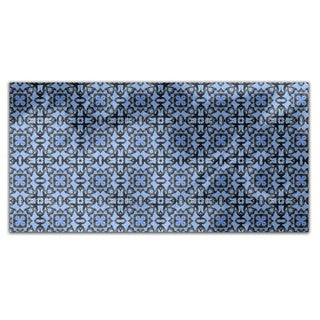 Blue Orient Rectangle Tablecloth