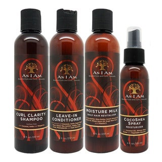As I Am Curl 4-piece Hair Care Set