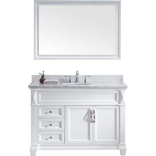 Virtu USA Victoria 48-inch Single Bathroom Vanity Set with Faucet