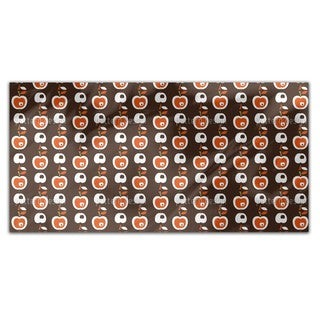 Apples In Chocolate Rectangle Tablecloth