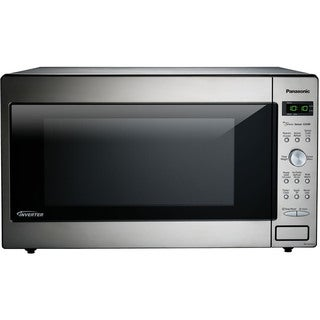 Panasonic NN-SD945S 2.2-cubic foot 1250W Genius Sensor Countertop/Built-In Microwave Oven with Inverter Technology
