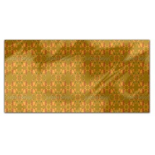 Acorns And Leaves Rectangle Tablecloth