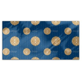 Abstract Christmas Ornaments Rectangle Tablecloth