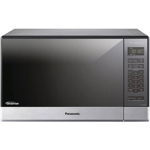Panasonic NN-SN686S 1.2-cubic foot 1200-watt Genius Sensor Microwave Oven with Inverter Technology