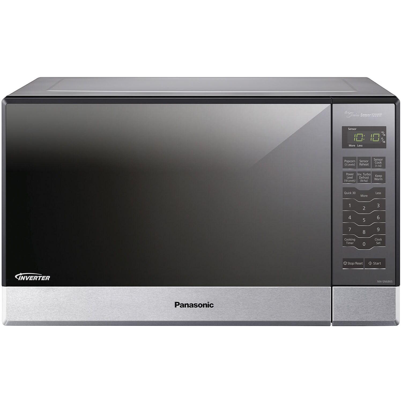 Panasonic Nn Sn686s 1 2cubic Ft 1200w Genius Sensor Microwave Oven Inverter Tech