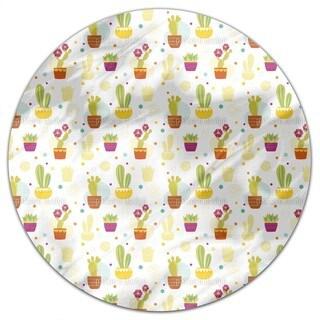 Cactus Round Tablecloth