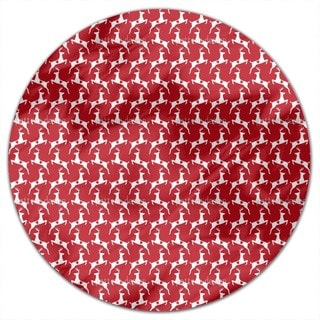 Lovely Deer Round Tablecloth