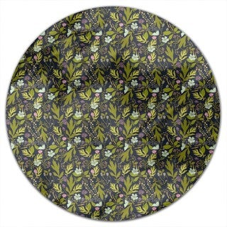 Meadow At Night Round Tablecloth