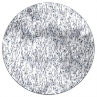 Meadow Dreaming Round Tablecloth
