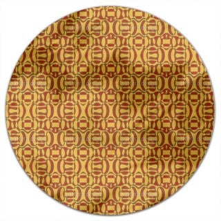 African Surprise Round Tablecloth