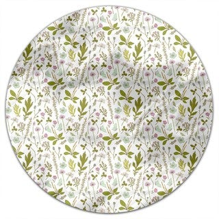 Garden Discovery Round Tablecloth