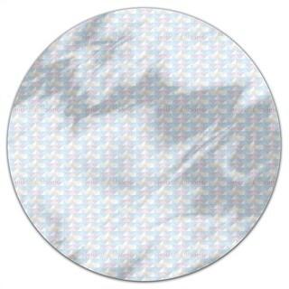 Paper Folding Regatta Round Tablecloth