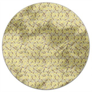 Lemon Mix Round Tablecloth