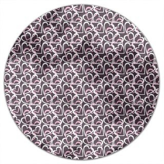 Flourish Heart Round Tablecloth