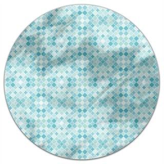 Quatrefoil Mosaik Round Tablecloth
