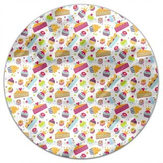In The Pastry Round Tablecloth