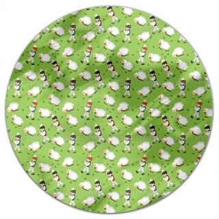 The Little Shepherds Round Tablecloth