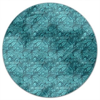 Fantasy Flowers underwater Round Tablecloth