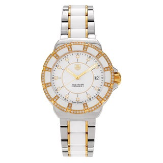 Tag Heuer Women's 'Formula 1' WAH1221.BB0865 1ct TDW Diamond Bracelet Watch