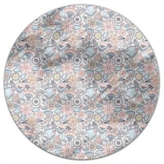 Garden Folklore Round Tablecloth
