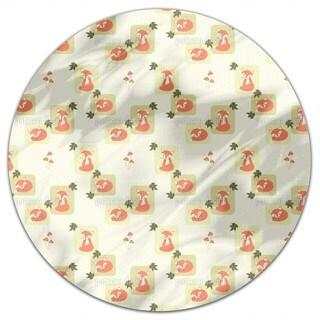 The Cunning Little Vixen Round Tablecloth