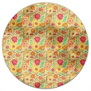Wonderful Summer Pleasures Round Tablecloth