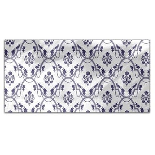 Rocko Blue Rectangle Tablecloth