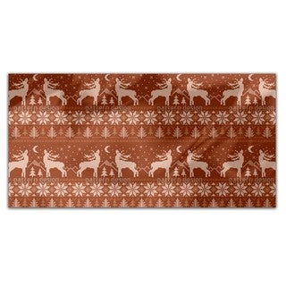 Roaring Deer In Norway Rectangle Tablecloth