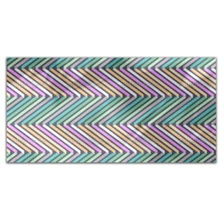 Ribbons In Zig Zag Rectangle Tablecloth