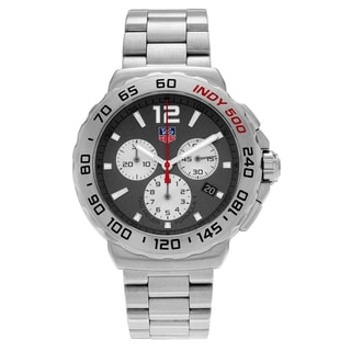 Tag Heuer Men's 'Formula 1' CAU1113.BA0858 Stainless Steel Chronograph Link Watch