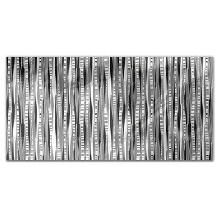 Retro Birch Forest Rectangle Tablecloth