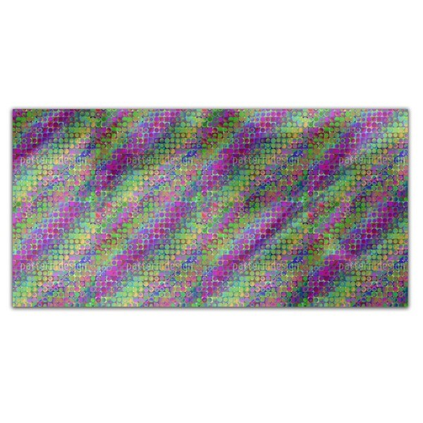 Rainbow In Colored Glass Rectangle Tablecloth