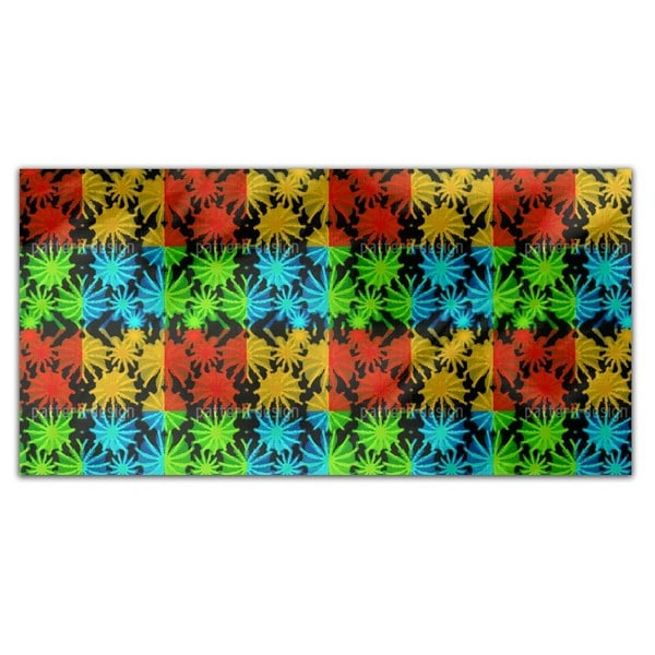 Pop Art Succulents Rectangle Tablecloth