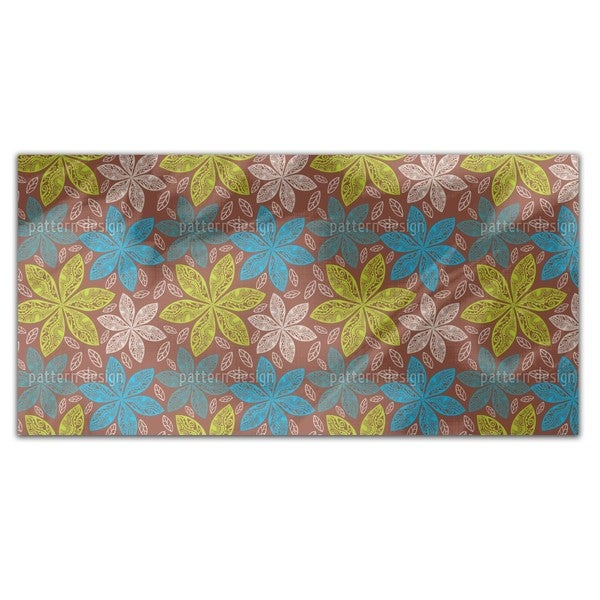 Polynesian Flora Rectangle Tablecloth