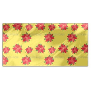 Poinsettia In Bloom Rectangle Tablecloth