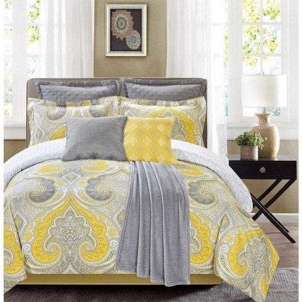 Fall River Mimosa 8-Piece Comforter Set