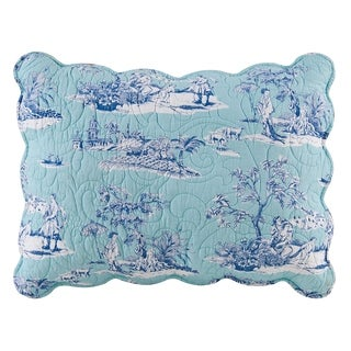 Hampstead Toile Cotton Standard Sham