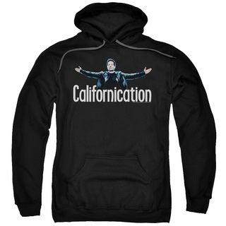 Californication/Outstretched Adult Pull-Over Hoodie in Black
