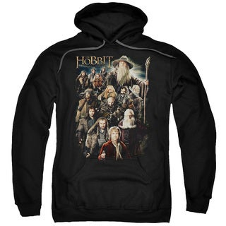 The Hobbit/Somber Company Adult Pull-Over Hoodie in Black